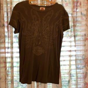 Harley Davidson women's cotton T-shirt large